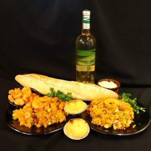 Diner voor 2 paella marisco