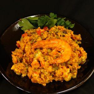 Paella marisco / paella vis