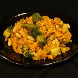 Paella de la huerta, vegetarische paella