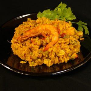 Paella mixta / paella met vis en kip