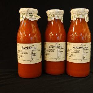 Gazpacho, koude Spaanse tomatensoep